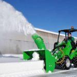 уборка снега мини-погрузчиком цена москва