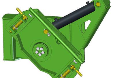 Регулировка наклона навесного оборудования