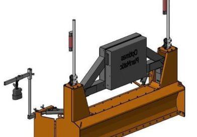 Пдготовка основания под укладку брусчатки, устройство дорожного основания, точное распределение инертных материалов